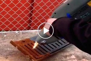 Laser Deixa Grelha Como Nova Depois De Remover Enorme Quantidade De Ferrugem Em Segundos! 8