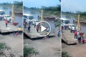 Passageiro Apressado Quase Fica Esmagado Por Ferry Ao Tentar Sair Cedo Demais 10