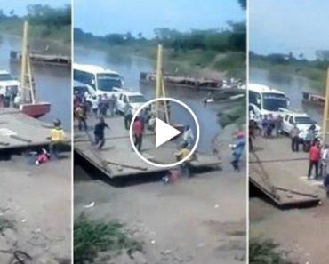 Passageiro Apressado Quase Fica Esmagado Por Ferry Ao Tentar Sair Cedo Demais 2