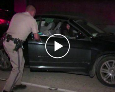 Mulher Embriagada Desmaia Dentro Do Carro Em Andamento Na Autoestrada 3