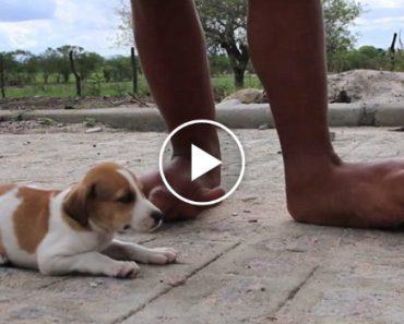 Jovem Com Pés Gigantes Sonha Um Dia Poder Calçar Sapatos De Salto Alto 6