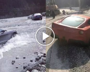 6 Carros De Luxo Ficam Seriamente Danificados Ao Percorrerem a Mais Perigosa Estrada Da China 8
