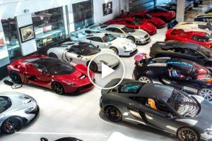 Esta é a Garagem De Luxo Com Mais De 30 Super Carros Que Pertencem a Uma Só Pessoa! 9