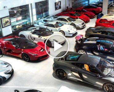 Esta é a Garagem De Luxo Com Mais De 30 Super Carros Que Pertencem a Uma Só Pessoa! 8