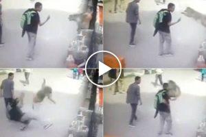 Macaco Ataca Jovem Depois De Ser Insultado Com Gesto Obsceno 10
