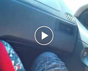 Mãe Tem Bebé Sentada No Banco Da Frente Do Carro Quando Ia a Caminho Do Hospital 3