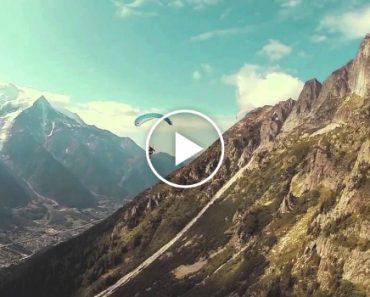 Só Um Paraquedista Muito Corajoso é Que Arrisca Fazer Um Salto Como Este! 7