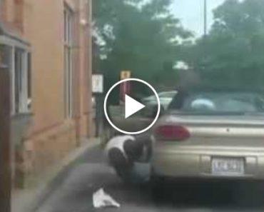 Homem Com Preguiça De Sair Do Carro Acaba Por Ficar Sem o Veículo 5