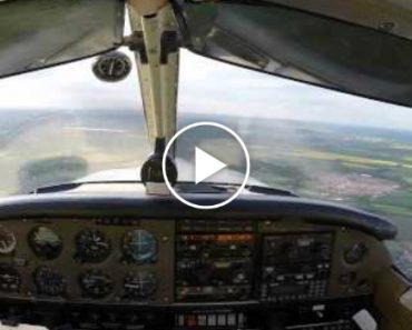 Piloto Evita Colisão Com Asa-Delta No Último Instante 4