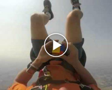Paraquedista Faz Salto Enquanto Resolve Cubo Mágico Em Apenas 60 Segundos 6