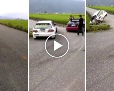 Corrida De Carros Termina Com Acidente Absurdo 2