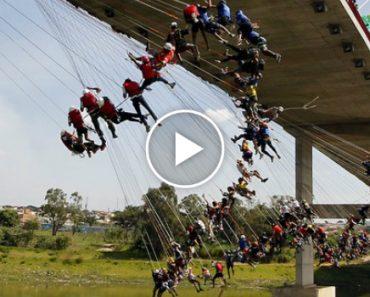 Mais De 140 Pessoas Saltam De Ponte Ao Mesmo Tempo 8