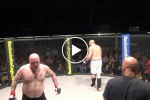 Lutador De MMA Borra-se Durante Combate 10
