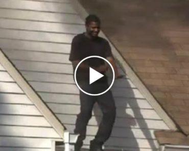 Homem Pega Fogo à Casa Da Ex-Namorada e Dança Em Cima Do Telhado 1