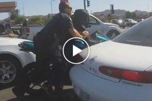 A Fuga Que Este Motociclista Faz à Polícia é Digna De Um Filme De Ação! 10