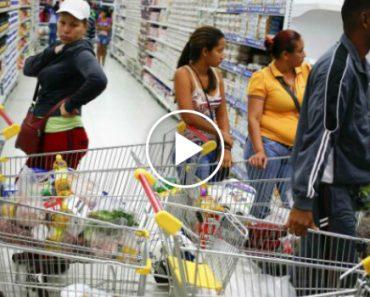 Venezuelano Capta Imagens Dramáticas De Interior De Supermercado 2