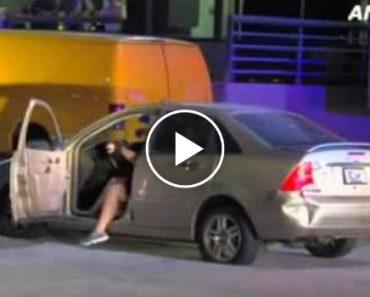 Nem Uma Perigosa Perseguição Policial Tirou a Vontade De Dançar Desta Condutora 8