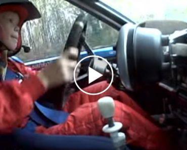 Um Incrível Piloto De Rally... Com Apenas 8 Anos De Idade 7