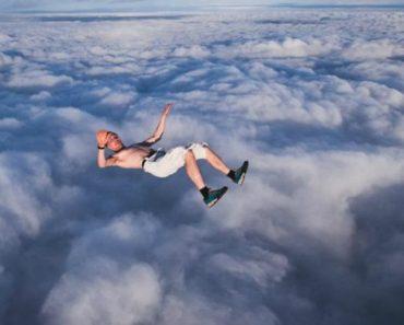 Homem Faz Salto Alucinante Sem Usar Paraquedas 4