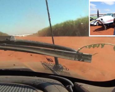 Polícias Batem Com Carro Contra Asa De Avião Para Impedir Fuga Dos Suspeitos 4