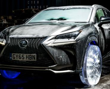 Lexus Constrói Rodas De Gelo Para o Seu Modelo NX 5