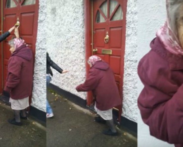 Idosa De 82 Anos Ainda Se Diverte a Bater Nas Portas e Fugir Como Na Infância 5