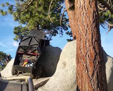 Este Condutor Não Tem Habilidade Para Subir Rochas Mas Tem Vocação Para Destruir Veículos 1