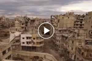 Drone Sobrevoa Síria e Capta Imagens Arrepiantes De Cinco Anos De Guerra 9