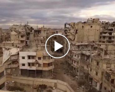 Drone Sobrevoa Síria e Capta Imagens Arrepiantes De Cinco Anos De Guerra 5