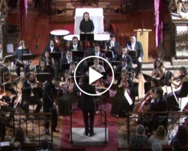 """Maestro Faz """"Voar"""" Violino Do Século XVII Em Pleno Concerto 2"""