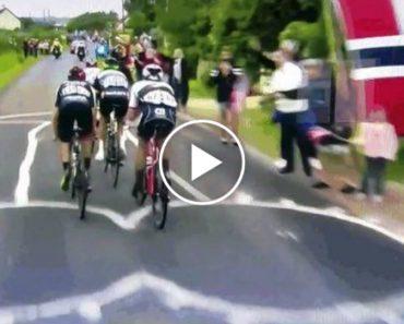 Enorme Desenho Insultuoso Aparece Misteriosamente No Tour De France 7