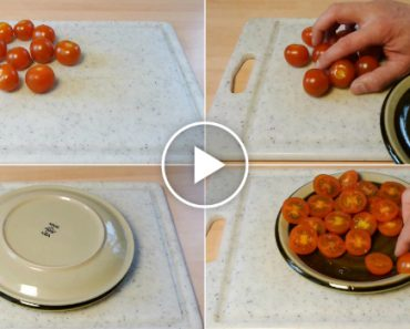 Como Cortar Vários Tomates Em Apenas 3 Segundos... Não Falha! 11
