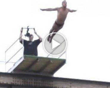 Atleta Esloveno Morre Após Efetuar Salto Para a Água a 20 Metros Altura 9