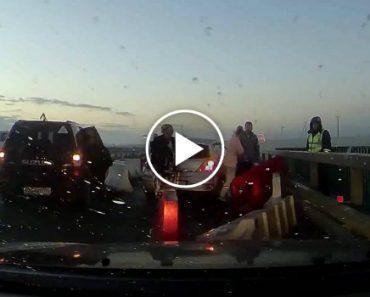 Condutores Percebem Da Pior Maneira Porque Se Deve Andar Devagar Em Dias De Nevoeiro 3