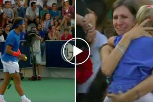 Rafael Nadal Interrompe Jogo Para Mãe Encontrar a Filha Desaparecida 8