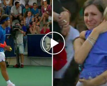 Rafael Nadal Interrompe Jogo Para Mãe Encontrar a Filha Desaparecida 2