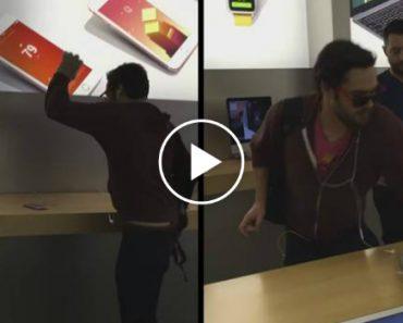 Cliente Furioso Destrói Vários Aparelhos Numa Loja Da Apple Em França 9