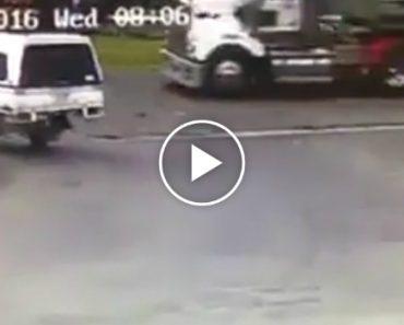 Resíduos Humanos Espalham-se Em Cima De Condutores Durante Travagem Brusca 6