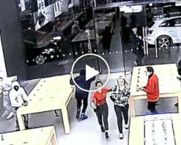 Loja da Apple Assaltada Duas Vezes Em Poucos Dias e Apenas Em 15 Segundos 6