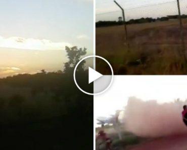 Vídeo Impressionante Do Boeing 727 Que Caiu Na Colômbia Pouco Tempo Depois De Descolar 8