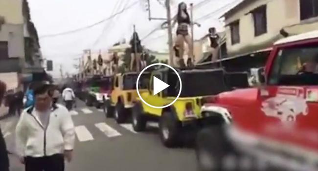 Marcha atrás tailandés