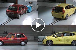 Incrível Vídeo Mostra a Comparação Na Segurança Entre Um Carro De 1997 e Um De 2017 6