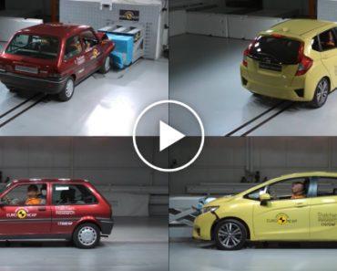 Incrível Vídeo Mostra a Comparação Na Segurança Entre Um Carro De 1997 e Um De 2017 9