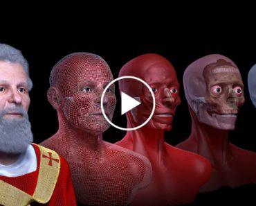 Cientistas Recriaram a Cara De São Valentim Em 3D 3
