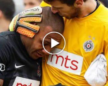 Jogador Sai Do Campo Em Lágrimas, Depois De Os Adeptos Imitarem Sons De Macacos 1