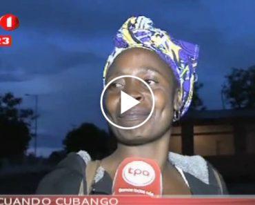 Caiu Granizo Em Cidade Angolana Pela 1ª Vez e a Reação Dos Habitantes é Memorável 4