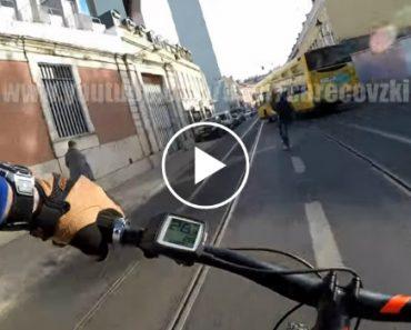 Tentativa Falhada De Roubo De Bicicleta Filmada Em Lisboa Na Primeira Pessoa 4