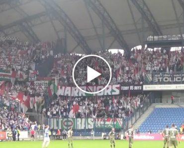 Legia Varsóvia Sofre Golo e a Sua Claque Reage De Forma Surpreendente 8