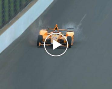 Fernando Alonso Acidentalmente Atinge 2 Pássaros De Uma Só Vez a Mais De 300 km/h 9