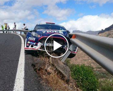 Rails De Segurança Salvam Piloto De Assustador Acidente Durante Prova De Rally 7